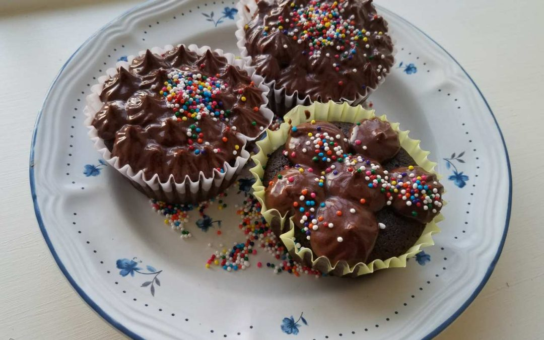 Healthy Killer Chocolate Cupcakes